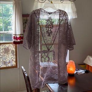 lace kimono | charlotte ruse | size L